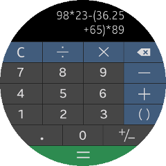 (Circle) Calculator