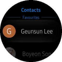 (Circle) Contacts UI