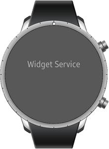 WidgetServiceSampleWidget