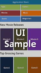 Application Store UI