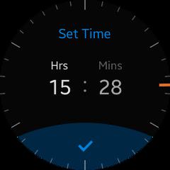 (Circle) Time Setting UI