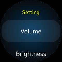 (Circle) Settings UI