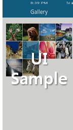 Gallery UI
